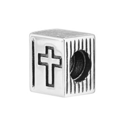 2021 pandora charmsbeads kreuze Clips for woman the Holy Bible beads Cross book charms fit pandora bracelet for woman Original 925 silver jewelry making charms