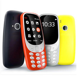 "Couleur quad quad à vendre-2016 Téléphone pour personnes âgées 3310 Appareil photo MP3 Dual SIM Big Keyboard Haut-parleur 2.4 ""écran couleur Bluetooth Quad Band Phone for Student, Old, children"