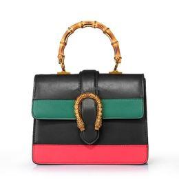 Wholesale Leather Messenger Bag Pattern - Newest Style Fashion Famous Brands Women Handbags High Quality Leather Pattern Chain Shoulder Bags Flap Messenger Bags handbag #421999
