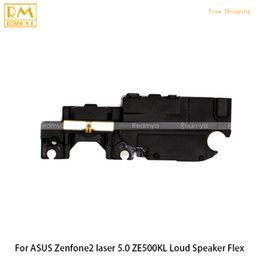 Wholesale Asus Speaker - 5pcs lot For ASUS Zenfone 2 LASER 5.0 ZE500KL, 5.5 ZE550KL, 6.0 ZE600KL ZE601KL Loud Speaker Buzzer Ringer Ribbon Replacement Parts Assembly