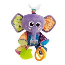 Wholesale Elephant Puzzle - Wholesale- American famous brand toys The new multi-purpose puzzle elephant Pendant 0-36months baby toys Multi-touch Rattle BB device