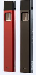 Wholesale Electronic Cigarette Kit Slim - Bpod 310Mah Slim Electronic Cigarette Kit thick Pods Portable Tank Vaporizer Power-Remind Smoking Version Dab Rig Dab Pen