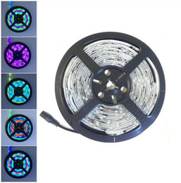 Wholesale Dream Color Led Strip - 5M Roll WS2811 Dream Magic Color IP67 Waterproof 5050 LED Strip DC12V 30Led M (No need Controller) Auto Change Color Flexible Light