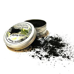 white bamboo charcoal Promo Codes - NEW Oral Whitening Tooth White Master Bamboo Activated Charcoal Powder Decontamination Tooth Yellow Stain Smoke Tooth Stain Bad Breath