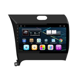 "Wholesale Dvd Player For Cars - 9"" Quad Core Android 6.0.1 System Auto Car Radio GPS For Kia K3 Cerato Forte 2012-2016 Car DVD BT 4.0 Phonebook RDS WIFI 3G Video Player"