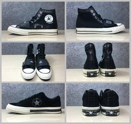 Wholesale Crafts Canvas - 2017 Converse x Neighborhood One Star Shoes NBHD 1970S Leather Canvas CRAFT WITH PRIDE NEIGHBORHOOD TOKYO EST 1994 Skate Sneakers 35-44