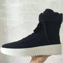 Wholesale Justin Bieber Winter - FREE SHIPPING Fear of God Shoes Owen Winter Shoes Men Justin Bieber Brand Men Boots FOG Boots Men High Street Boots