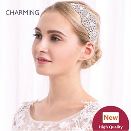 Wholesale Imitation Products China - elastic headbands crystal hair clips bridal hair accessories best wholesale products china market online free shipping