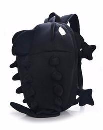 Wholesale kawaii backpacks - Wholesale- Dinosaur Backpack for Women and Men Cartoon Personality Kawaii Monster Backpack for School Students Cute School bags Travel Bag
