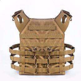 Envío Gratis Tactical Plate Carrier Ammo Chest Rig JPC Chaleco Airsoftsports Paintball Gear Body Armor desde fabricantes
