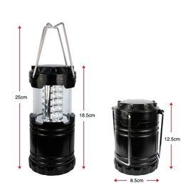 2019 éclairage d'urgence vintage Nouveau Portable Ultra Lumineux Camping Lanterne Bivouac Randonnée Camping Lumière 30 LED Lampe Sports de Plein Air SC037