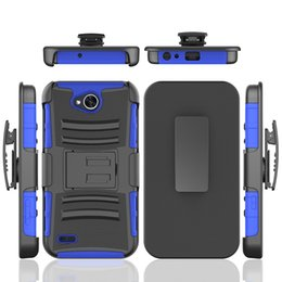 Wholesale Lg Optimus G Pro Wholesale - Armor Case with Kickstand Anti Slip Belt Clip 3 in 1 PC+TPU For LG Optimus L9 L90 F6 F7 US780 Logic L35g G Pro X Screen X view K500 G4 G5