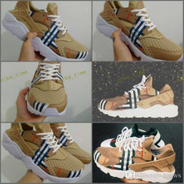 Wholesale Designers Art - 2017 New Design Huaraches Running Shoes For Women & Men, High Quality Air Huarache Famous Brand Custom Designer Sneakers Size 5.5-12