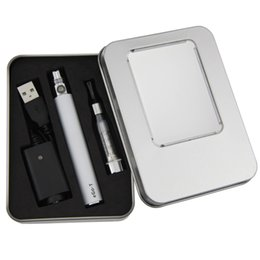 Wholesale Ego Aluminum - Ego CE5 E Cigarette starter Kits CE5 atomizer vaporizer Ego T Battery Electronic Cigarette CE5 aluminum case Kit