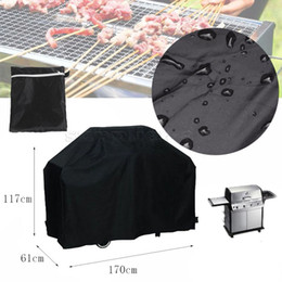 Wholesale Outdoor Cook - Large Outdoor BBQ Cover Waterproof Breathable UV Gas Barbeque Grill Protector