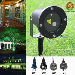 Wholesale Swims Usa - Outdoor waterproof LED laser light Stage Lights projector Swimming pool garden decoration DJ effect stage lighting