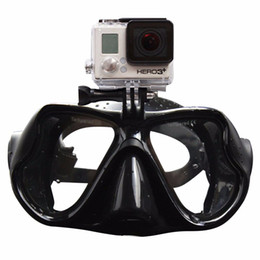 Canada Gros-QYQ plongée masque Scuba Snorkel Lunettes de natation anti-buée Go Pro Xiaomi SJCAM Caméra de sport Expédition rapide Underwater Chasse Masque supplier wholesale underwater cameras Offre