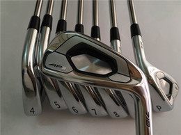 Wholesale Iron Head Golf Forged - AP3 718 Iron Set AP3 718 Golf Forged Irons Golf Clubs 3-9P R S Steel Shaft With Head Cover