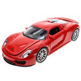 Wholesale Auto Diecast - 1:32 Kids Toys 918 Street Cars Model Children Simulation Diecast Metal Alloy Car Pull Back Mini Auto Brinquedo Menino Gift