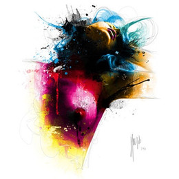 Wholesale Modern Oil Portraits - Framed Patrice Murciano Diane,Pure Hand Painted Kult Portrait Frau modern Wall Art Oil Painting On Canvas.Multi size Free Shipping PM017