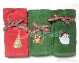 2019 set di regali per il bagno 100% Cottom decorativo set di punta delle dita di lusso CottonTowel regalo di Natale Solid SPA bagno di spiaggia spugna asciugamano per adulti Serviette de Bain set di regali per il bagno economici