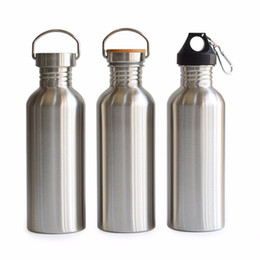 Wholesale Classic Yoga - 1000Ml Stainless Steel Sports Water Bottle Flask Jar My Bottle Great For Camping Hiking Cycling Travel Yoga Outdoor