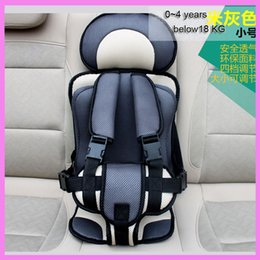 Wholesale Baby Car Cushion - 0~4Y Portable Folding Baby Child Car Vehicle Safety Seat Kids Belt Shoulder Pad Safety Chair Cushion