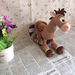 Wholesale Cute Stuffed Horse Toys - tuffed Animals Plush Stuffed Plush Animals Free Shipping 23cm=9inch Original Pixar Toy Story Plush Bullseye Figure The Horse Cute Doll Fo...