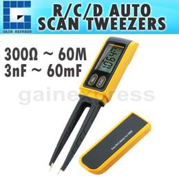 Wholesale Digital Rcd - GVA-505B Digital RCD Capacitance Meter Tester Multimeter SMD Resistance Diode Test