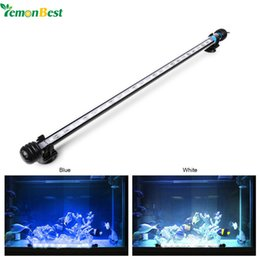 fish pond tanks Coupons - Wholesale- Submersible Underwater Aquarium Led Lighting Fish Tank Lamp for Pool Decoration Aquarium Accessories AC 100-240V UK US EU Plug