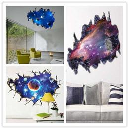 3D Stereo Galaxy Duvar Çıkartmaları Oturma Odası Yatak Odası TV Arka Plan PVC Malzeme Duvar Çıkartmaları Modern DIY Ev Dekorasyonu Çocuk Odaları Için LDH56 nereden