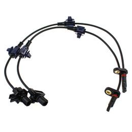 Wholesale Honda Parts Wheels - Pair Rear Left Right Side ABS Wheel Speed Sensor For Honda CR-V 2007-2011 OE:57475SWA003 57470SWA003