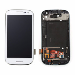 Wholesale Galaxy S3 Digitizer Repair - For Samsung Galaxy S3 LCD I9300 I9308 i939 Display Touch Screen Digitizer Assembly 100% New And Original + free repairing tools