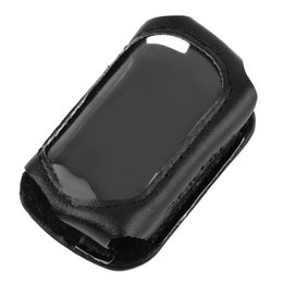 Wholesale Leather Case For Car Remote - Leather Case For Starline B9 B6 A91 A61 LCD Two Way Car alarm System Remote Control Hot Selling