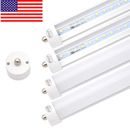 "Wholesale Cree Led Replacement - 50-Pack 45W T8 96"" 8ft LED Tube,LED Fluorescent Replacement,Led Lights tubes,Ac100-277V Input, 6000K Cold White,Super Bright,Stock In US"