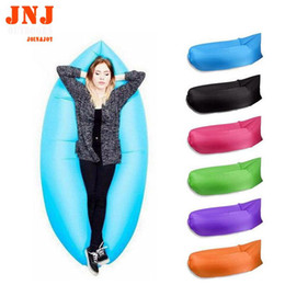 Wholesale Inflatable Air Sofa - Wholesale- FREE SHIPPING faster Inflatable Sofa High Quality Outdoor Sleep Relax Air Sofa Colorful Water-proof Folding Inflatable Sofa
