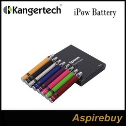 Wholesale Voltage Protection - Clearance!Kanger iPow Battery 650mAh VV LCD Battery with Twist Variable Voltage Capability and 5-click Protection iPow 1 100% Original