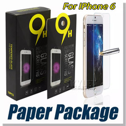 Wholesale For iPhone Tempered Glass Screen Protector For Iphone S Iphone X Edition Film mm D H Anti shatter Paper Package
