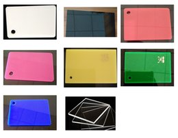 Wholesale Color White Board - 3mm thickness A3 Acrylic Plexiglass Clear red black white pink green blue and other color Sheets Plastic Plate Handicraft PMMA Board Have