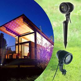 2019 lampada a raggi laser esterni RGB Outdoor IP65 Laser Light Proiettore laser di Natale RGB Firefly Light LED Proiettore Impermeabile Graden Landscape Lamp Lawn Decor Light lampada a raggi laser esterni economici