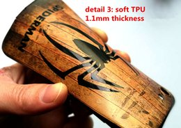 Wholesale Embossment Case Iphone - New arrival 3D embossment wooden grain soft TPU case back cover back shell for iPhone 7 6s plus 10 styles in stock