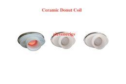 Wholesale Electronic Cigarette Elips Atomizer - 2016 full ceramic dual ceramic donut atomizer coil for elips micro gpen cloud pen ceramic electronic cigarette 0.5-0.7ohm for Box Mod