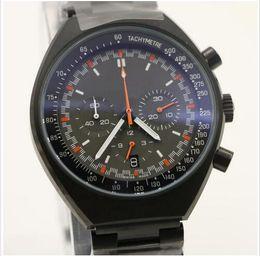 Wholesale Mark X - Luxury High Quality Stainless Steel 46mm x 42mm Mark II 327.10.43.50.06.001 VK Quartz Chronograph Working Men Mens Watch Watches