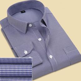 Wholesale Slim Fit Work Shirts Black - Wholesale- Men Shirt Long Sleeve Shirt Business Casual Striped Shirt Work Wear Slim Fit Camisa Masculina Brand Shirts Men New 2016