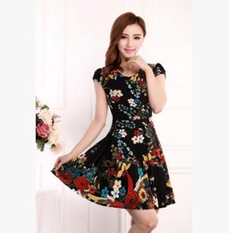 Wholesale Cheap Silk Clothing - New fashion ladies casual dress with the size of the cheap women dress design women's clothing fashion sleeveless summer dress shops C04