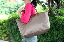 Wholesale Vegetable Fashion - waterproof folding shopping bags fashion bags travel essential short-haul travel bag baby diaper bag