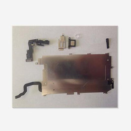 """Wholesale Display Iphone Home - For iphone 6 Full LCD Display Repair Parts Front Camera In Ear Speaker Plate home button for iphone6 Plus 4.7"""" 5.5"""" 6S 6SP"""