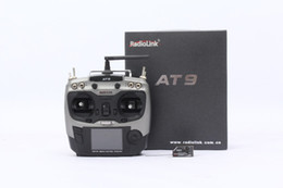 Wholesale Tx Radio Transmitter - F10001 2.4G 9ch system Radiolink AT9 rc radio Transmitter & Receiver TX + RX for Drone remote control Helicopter