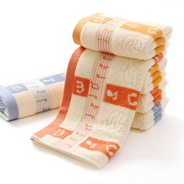 Wholesale Bamboo Absorbent Towel Face - Free Shipping Hot 75*34 cm Cotton music notes print soft absorbent musical 3 colors Hand towel