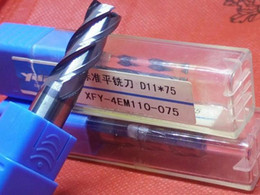 Wholesale Cnc Insert - 11.0-12.0mm carbide mill CNC Lathes Tools endmilll Carbide Inserts Milling Cutter Coating XFY Flat Engraving Cutting Carving Made In taiwan